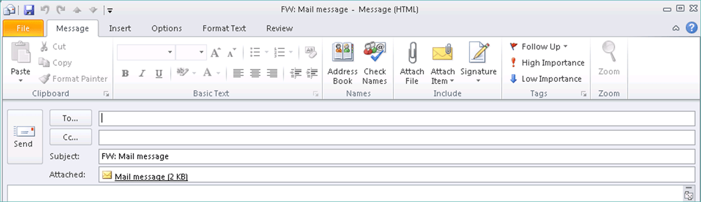Email as Attachment 3