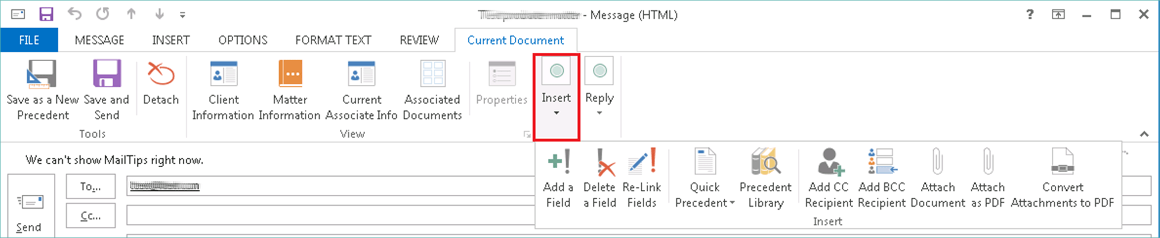 Emailing as PDF 1