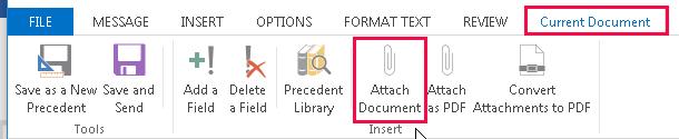current doc tab